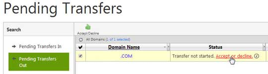 Ускоряем процесс переноса домена с GoDaddy