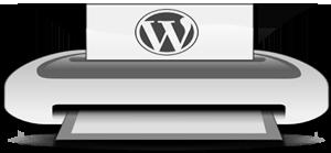 Плагин WP-Print - страниц для печати в wordpress