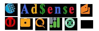AdSense, Rapida, Webmoney, Яндекс.Деньги, QIWI, RBK Money